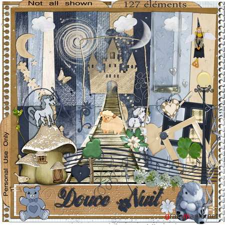 Scrap kit - Douce Nuit