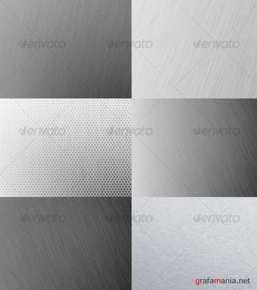 Metal Backgrounds – GraphicRiver