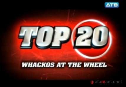 Улётное видео. Психи за рулём / Whackos at the Wheel top 20 (2010) SatRip