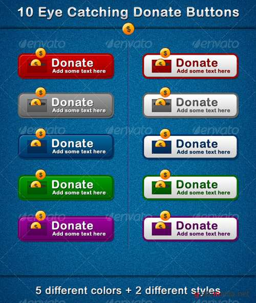 10 Eye Catching Donate Buttons