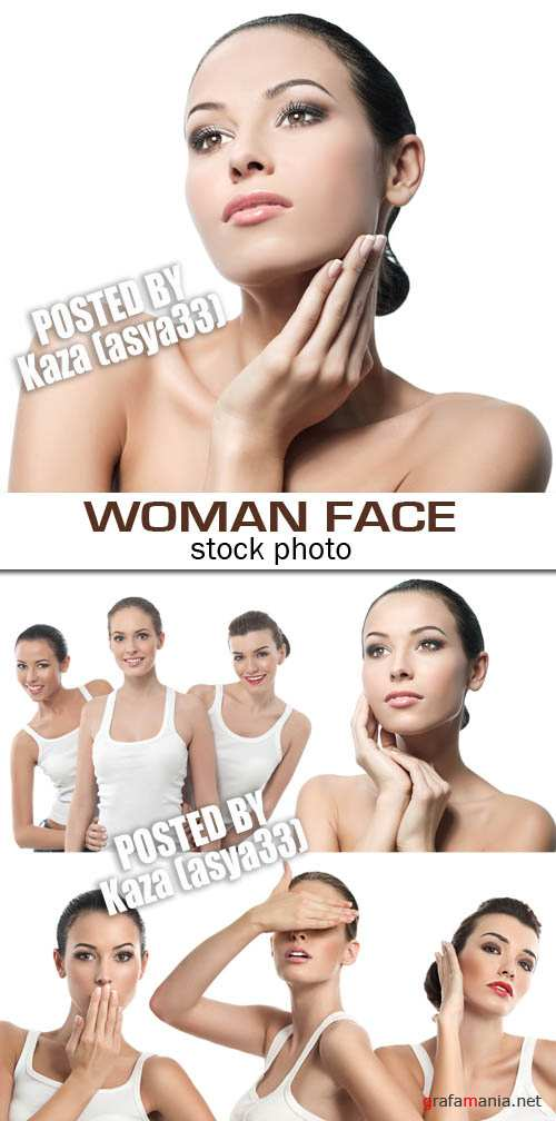 Woman face 2