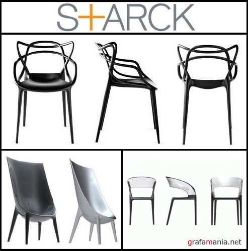 3D Models Furniture by Philippe Starck