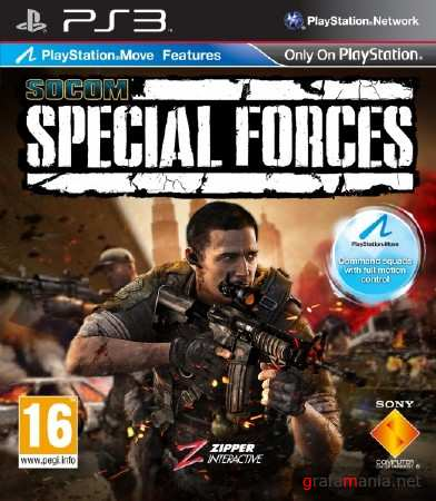 SOCOM: Special Forces (Move) (2011/RUSSOUND/PS3)