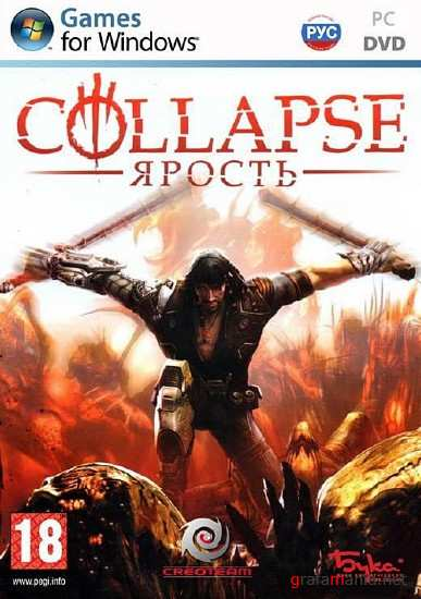 Collapse: Ярость / Collapse: The Rage (2010/RUS/RePack от Kib0rg)
