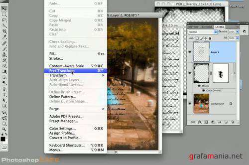 PhotoshopCAFE - Designing in Photoshop with Graphic Authority Templates