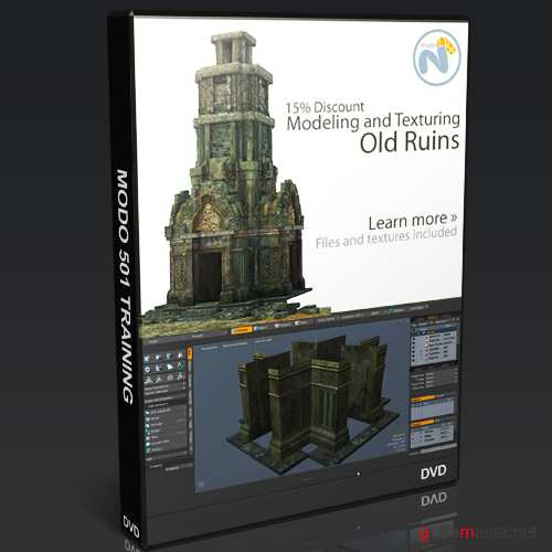The Third Guild - Modeling and Texturing Old Ruins - modo and Photoshop [2011, ENG]