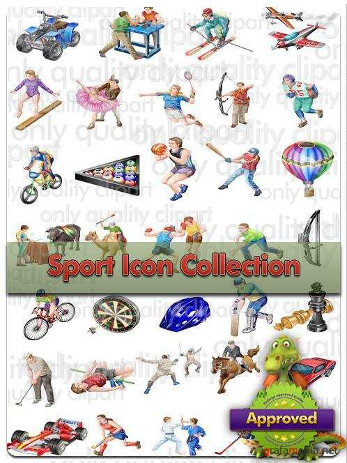 Sports Icons Collection - Vector Stock