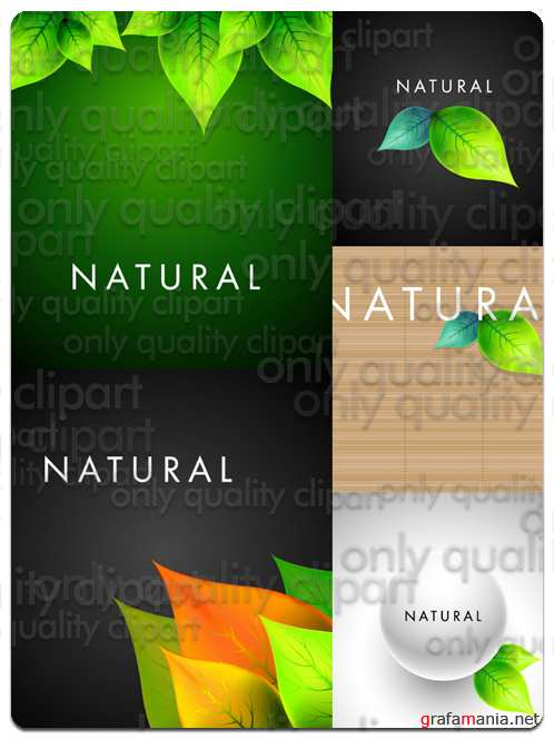 Nature Backgrounds - Vector Stock