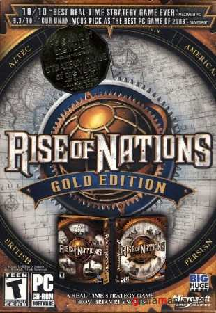Rise of Nations: Золотое Издание 3 in 1 (2003-2004/РУС/ПК/РЕПАК by MOP0ЗОВ)