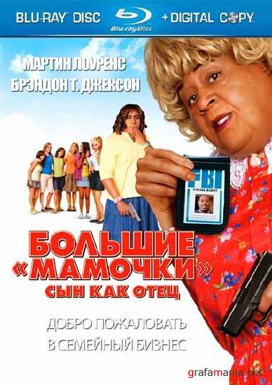 ������� �������: ��� ��� ���� / Big Mommas: Like Father, Like Son (EXTENDED) (2011) HDRip
