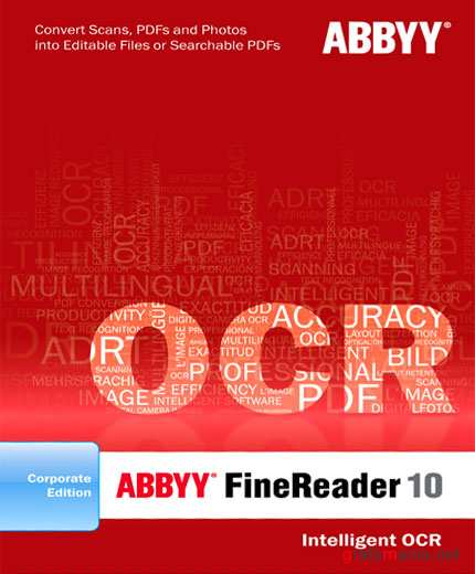 ABBYY FineReader 10 build 102.130 Rus CE Activated Repack