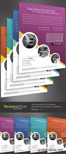 Business flyer template - GraphicRiver