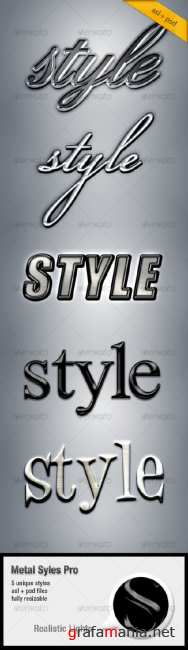 Metall styles Pro - GraphicRiver