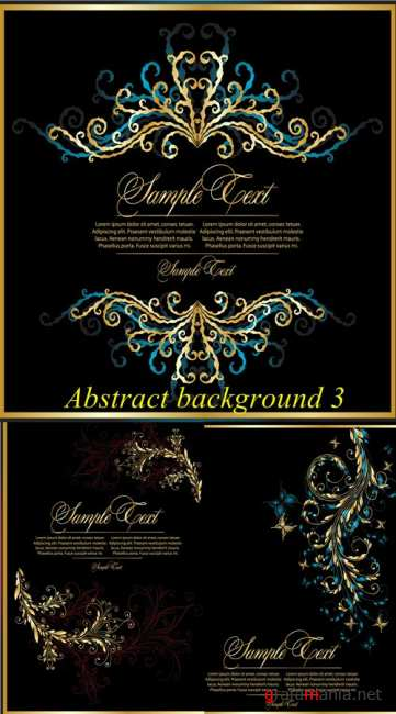 Stock: Abstract background 3