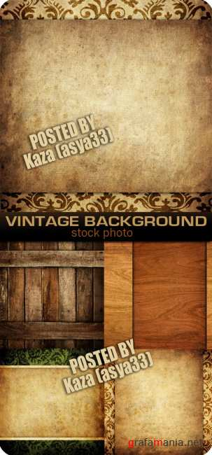 Vintage & wood backgrounds