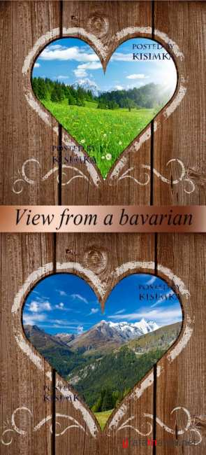Stock Photo: View from a bavarian
