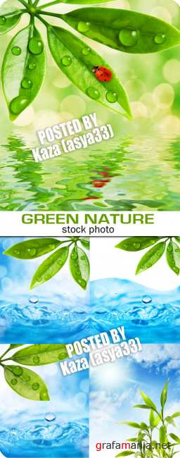 Green nature & water
