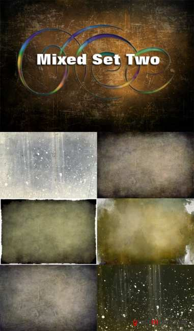 Old Grunge Textures - Mixed Set Two