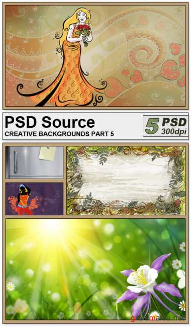 PSD Source - Creative backgrounds 5