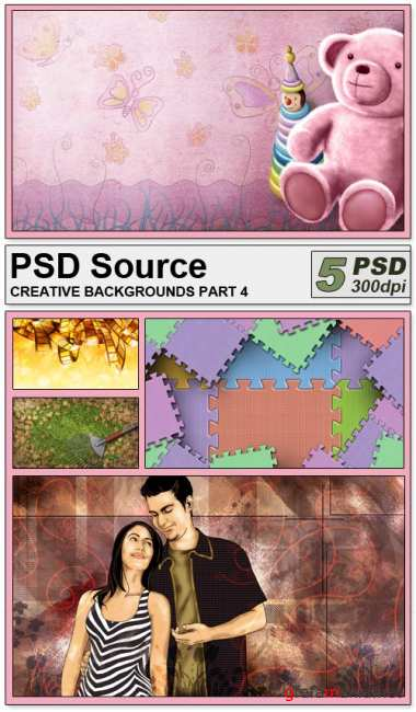 PSD Source - Creative backgrounds 4