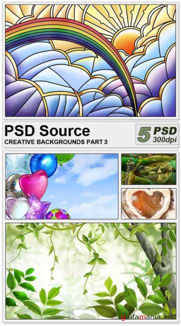 PSD Source - Creative backgrounds 3