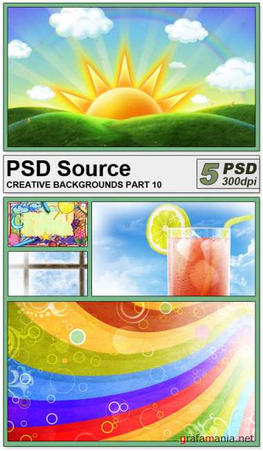 PSD Source - Creative backgrounds 10