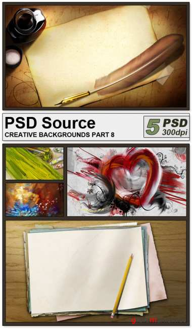 PSD Source - Creative backgrounds 8