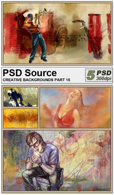PSD Source - Creative backgrounds 15