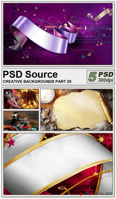 PSD Source - Creative backgrounds 20
