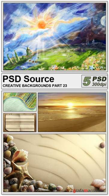 PSD Source - Creative backgrounds 23