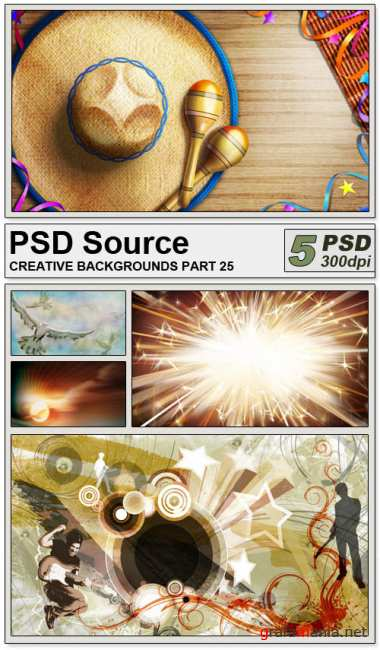 PSD Source - Creative backgrounds 25
