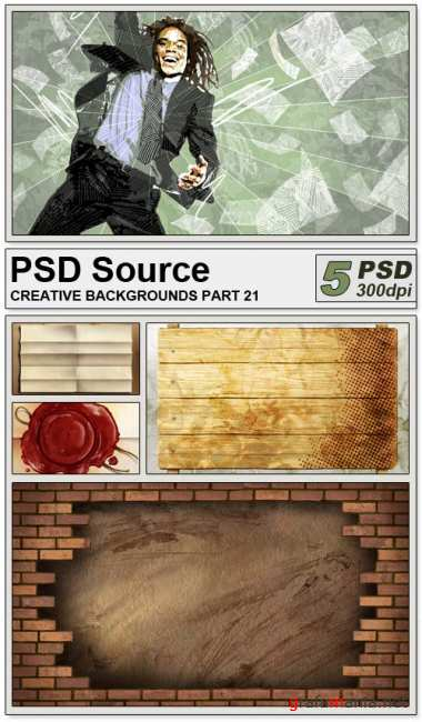 PSD Source - Creative backgrounds 22
