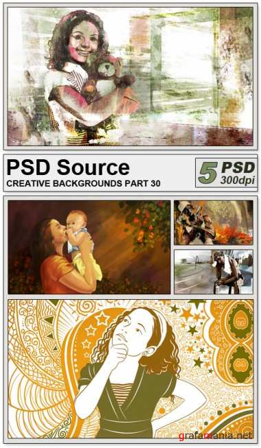 PSD Source - Creative backgrounds 30