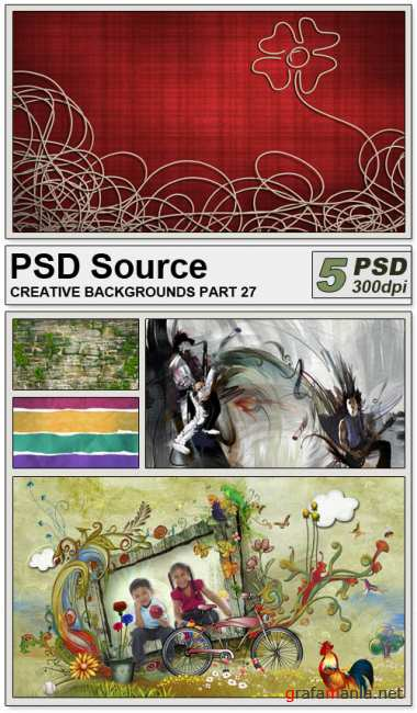 PSD Source - Creative backgrounds 27
