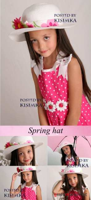 Stock Photo: Spring hat