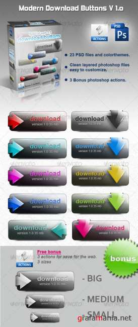 Download buttons v.10 - GraphicRiver