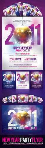 GraphicRiver – Happy New Year Party Flyer