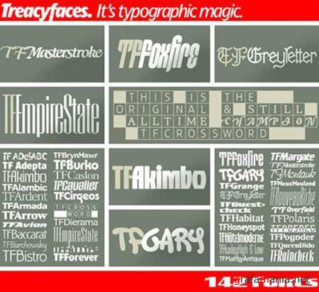 TreacyFaces Headliners Fonts