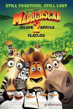 Мадагаскар 2 / Madagascar: Escape 2 Africa (2008/РУС/ПК/РЕПАК от Spieler)