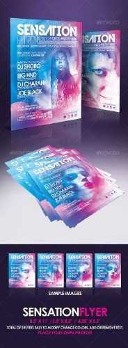 GraphicRiver - Sensation Flyer