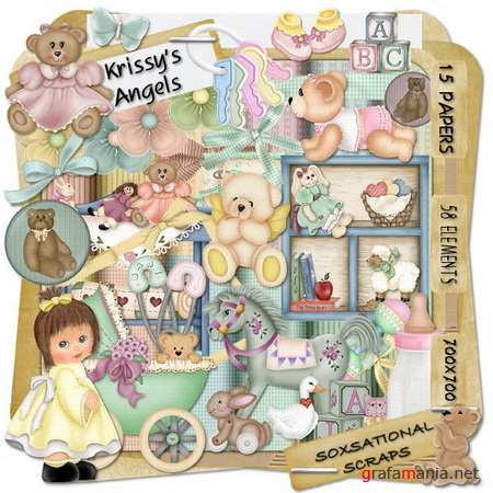 Scrap kit - Krissy's Angels