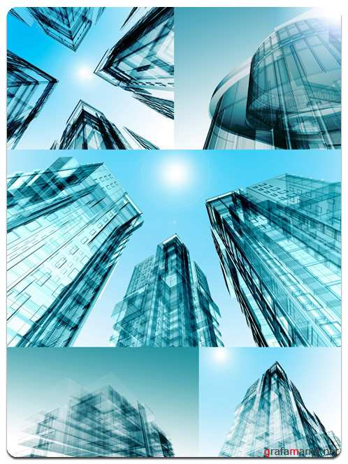 Architectural Designs - Stock Photo