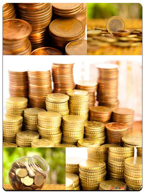Euro Coins - Stock Images