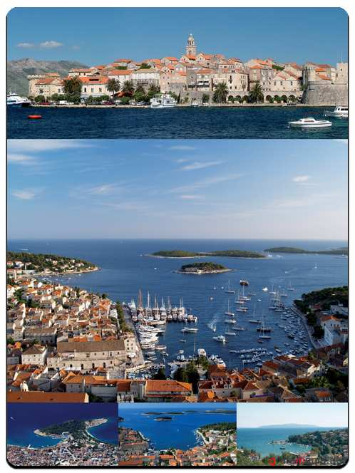 Croatian Riviera - Stock Images