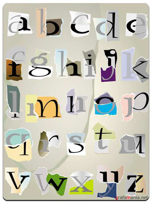 The Latin Alphabet - Small Letters