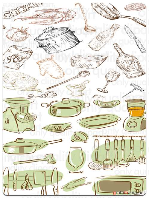 Kitchen - Vector Collection