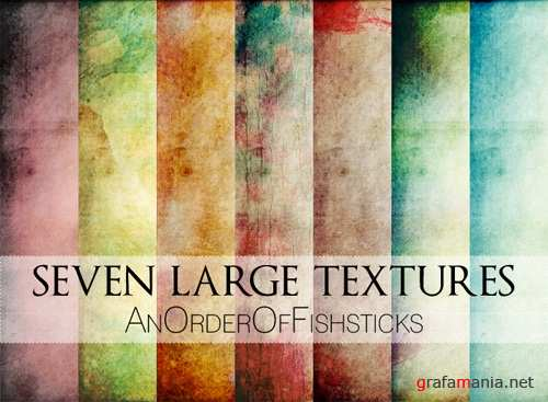 Six Large Textures Pack 2