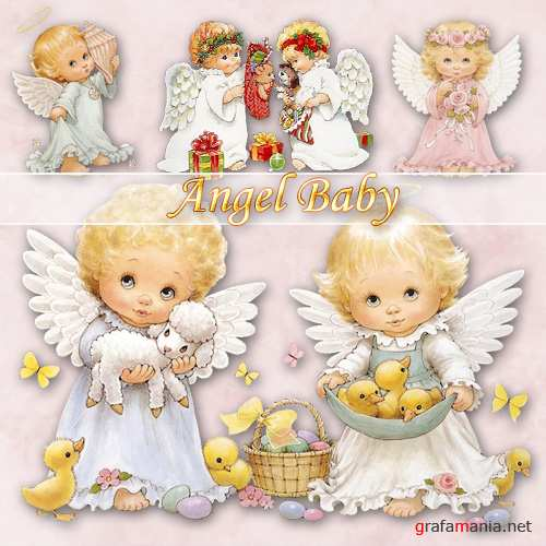 ��������� ������ | Angel Baby (PNG)
