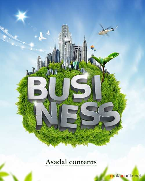 Source - Business Poster