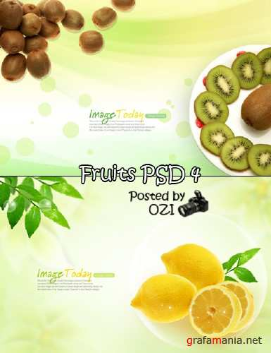 Fruits PSD 4